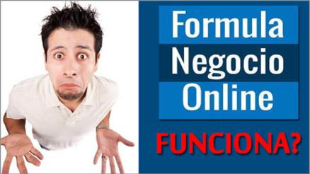 formula negocio online funciona?