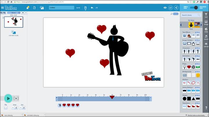 criar videos animados - por dentro