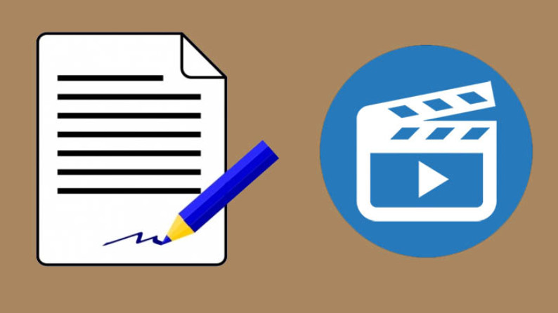criar videos animados - script