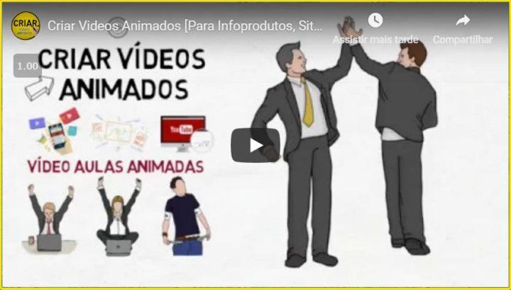 como fazer videos animados profissionalmente