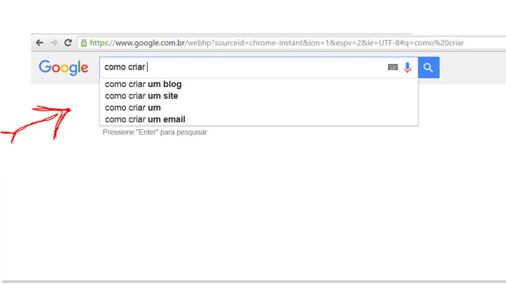 ferramentas do google - google search
