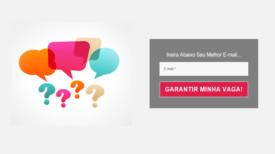 Como Criar Uma Página De Captura De E-Mails - Início