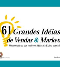 capa ebook 61 Grande Ideias de Vendas e Marketing - raul candeloro