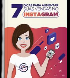 capa ebook 7 dicas para aumentar suas vendas no instagram - gerenciagram