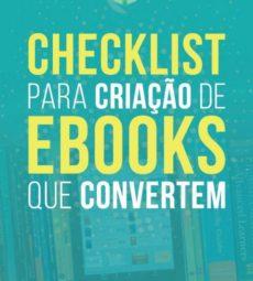 capa ebook checklist para criacao de ebooks que convertem - chico montenegro