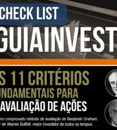 capa ebook os 11 criterios fundamentais para avaliacao de acoes
